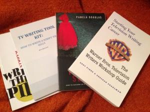 tv writing books